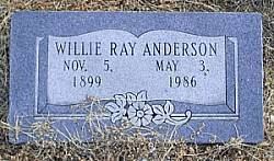 Willie Ray Anderson