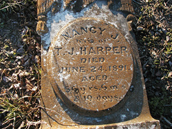 Nancy Jane <I>Graves</I> Harper