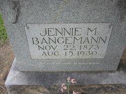 Jennie Maggie <I>Hartwig</I> Bangemann