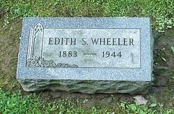 Edith S. <I>Sturdevant</I> Wheeler