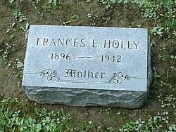 Frances L <I>Cornell</I> Holly