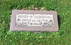 Agnes Maria <I>Hagstrom</I> Anderson