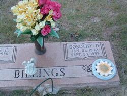 Dorothy D. <I>Daniels</I> Billings