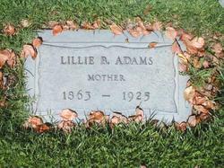 Lillie B. Adams