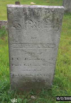 Lucy Ann <I> Lathrop</I> Bartlett