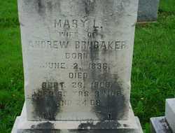 Mary <I>Brubaker</I> Brubaker