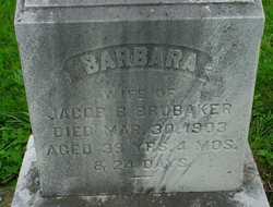 Barbara <I>Felker</I> Brubaker