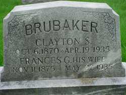 Frances G <I>Loraw</I> Brubaker