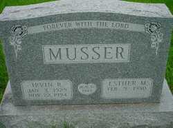 Irvin R Musser