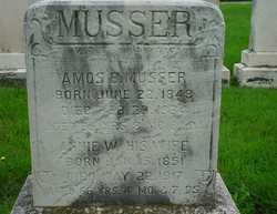 Amos B Musser