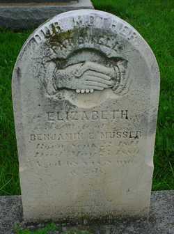 Elizabeth <I>Brenner</I> Musser