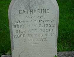 Catharine Newcomer <I>Musser</I> Musser