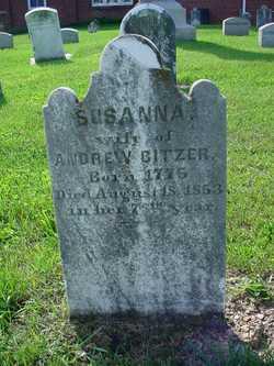 Susanna <I>Sweigart</I> Bitzer