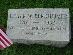 Lester W Berkheimer
