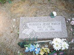 Roberta Jessie <I>Fuston</I> Hatch