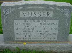 Irvin W Musser