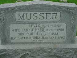 Levi O Musser