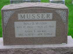 Annie F Musser