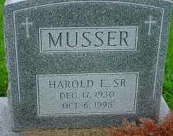 Harold E Musser