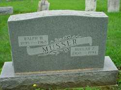 Ralph H Musser