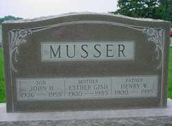 Esther <I>Gish</I> Musser