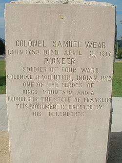 Col Samuel Wear