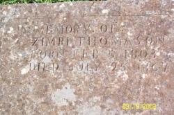 """Zemeriah """"Zemeri"""" Thomason"""