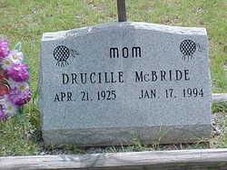 Drucille <I>Ritter</I> McBride
