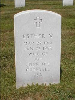 Esther V Cutshall