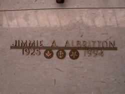 Jimmie A Albritton