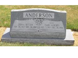 "Carl Albert ""Hoot"" Anderson"