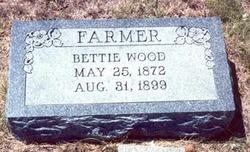 """Martha Elizabeth """"Betty"""" <I>Wood</I> Farmer"""