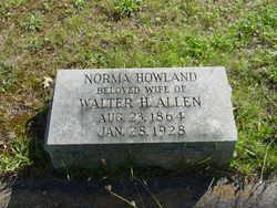 Norma <I>Howland</I> Allen