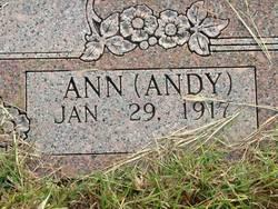 """Ann """"Andy"""" Dunn"""