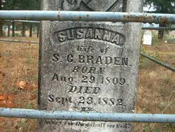 Susanna <I>Crobarger</I> Braden