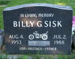 Billy G. Sisk
