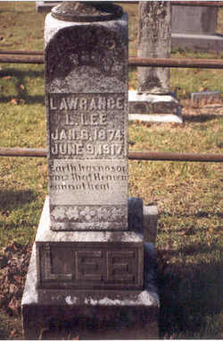"Lawrance Lloyd ""Lahl"" Lee"