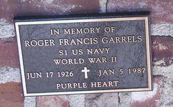 SMN Roger Francis Garrels
