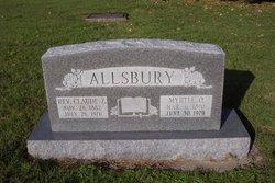Rev Claude Z. Allsbury