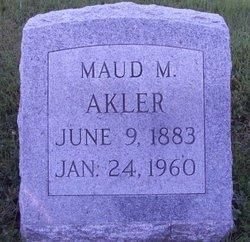 Maud Myrtle <I>Lanfear</I> Akler