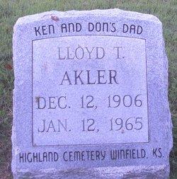 """Lloyd Thomas """"LT"""" Akler"""