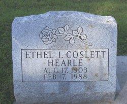Ethel Irene <I>Akler</I> Hearle