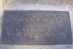 Harold G. Akler