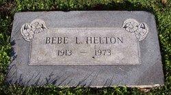 Bebe L. Helton