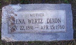 Lena M. <I>Wertz</I> Dixon