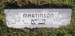 Ola Earl Martinson