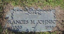 Frances M. Johnson