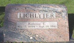 Katherine E. Lichlyter