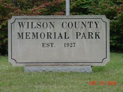 Wilson County Memorial Park