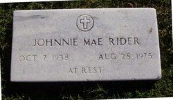 Johnnie Mae Rider